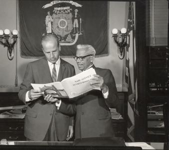 Gaylord Nelson with politician