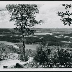 Wyalusing State Park, Wisconsin (Wisconsin towns)