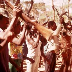 Recruits in the Popular Resistance Movement for the Liberation of Angola