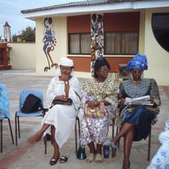 Women at Iloko community meeting
