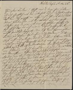 [Letter from Julie Sternberger to her brother, Jakob Sternberger, May 6, 1856]