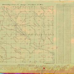 [Public Land Survey System map: Wisconsin Township 35 North, Range 05 East]