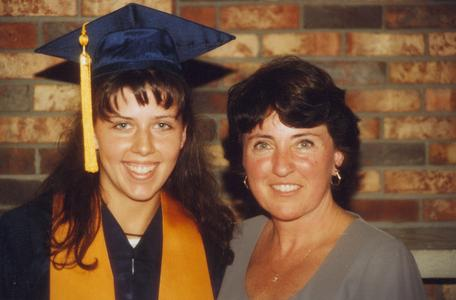 UW Center Barron County Graduation 1996