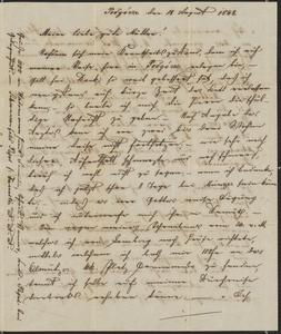 [Letter from Ludwig Sternberger to his mother, Johanna Sternberger, August 18, 1848]