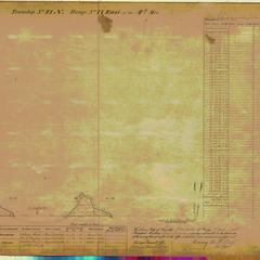 [Public Land Survey System map: Wisconsin Township 41 North, Range 17 East]