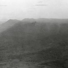Aerial view of the Boloven Plateau looking northeast from Pakxe in Sedone Province