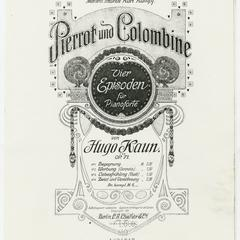 Pierrot und Colombine
