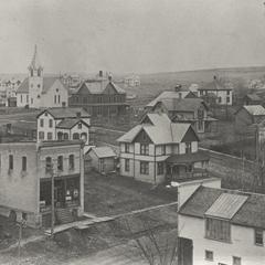 View of New Glarus, 1907