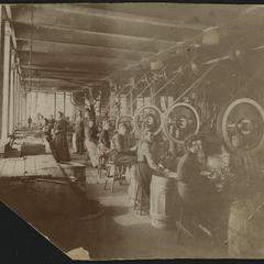 Simmons women factory employees at work