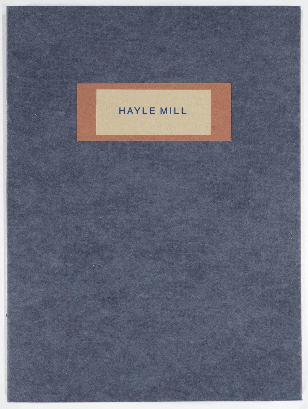 Papermaking at Hayle Mill, 1808-1987 (1 of 5)