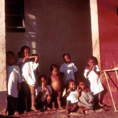 Children on Veranda