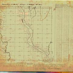 [Public Land Survey System map: Wisconsin Township 18 North, Range 04 East]