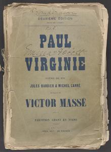 Paul et Virginie [collection] : opera en 3 actes et 6 tableaux