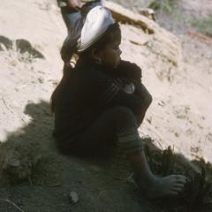 Ethnic Khmu' refugee girl