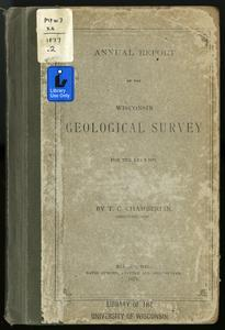 Annual Report of the Wisconsin Geological Survey for the year 1877