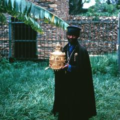 Priest of the Holy Treasury of the Cathedral in Axum