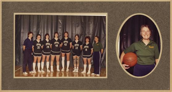 1983-84 women's basketball team