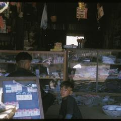 Huayxay : Hmong (Meo) in town stores