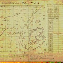 [Public Land Survey System map: Wisconsin Township 31 North, Range 18 East]