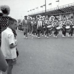 Marching band at State Fair