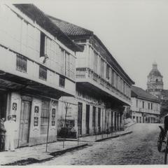 Escolta Street, Manila, 1884