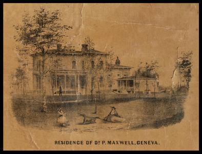 Residence of Dr. P. Maxwell, Geneva