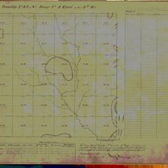 [Public Land Survey System map: Wisconsin Township 32 North, Range 04 East]