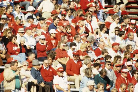Badger football fans