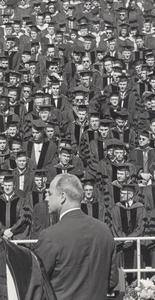 Gaylord Nelson at graduation