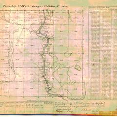 [Public Land Survey System map: Wisconsin Township 27 North, Range 13 West]