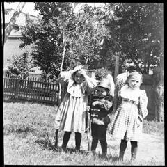 Margaret, Harold and Kathryn Parker