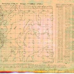 [Public Land Survey System map: Wisconsin Township 24 North, Range 17 East]