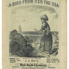 Bird from o'er the sea