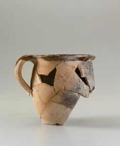 Fragmentary pitcher