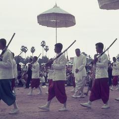 King of Laos at festival