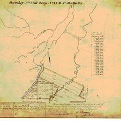 [Public Land Survey System map: Wisconsin Township 23 North, Range 20 East]