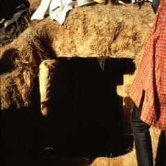 View of Opening to Ancestral Tomb Taken During Exhumation Ceremony
