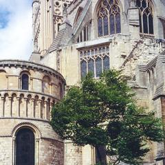 Norwich Cathedral sanctuary from the southeast