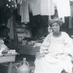 Provisions seller in Ilesa market
