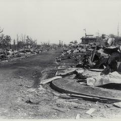 Ruins in Antipolo, Luzon, 1945