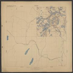 Geological map of Elmwood area (Iron County, Michigan)