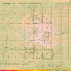 [Public Land Survey System map: Wisconsin Township 15 North, Range 07 East]