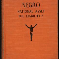 Negro : national asset or liability