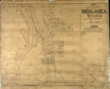 Map of the city of Onalaska, Wisconsin