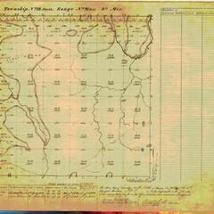 [Public Land Survey System map: Wisconsin Township 18 North, Range 21 East]