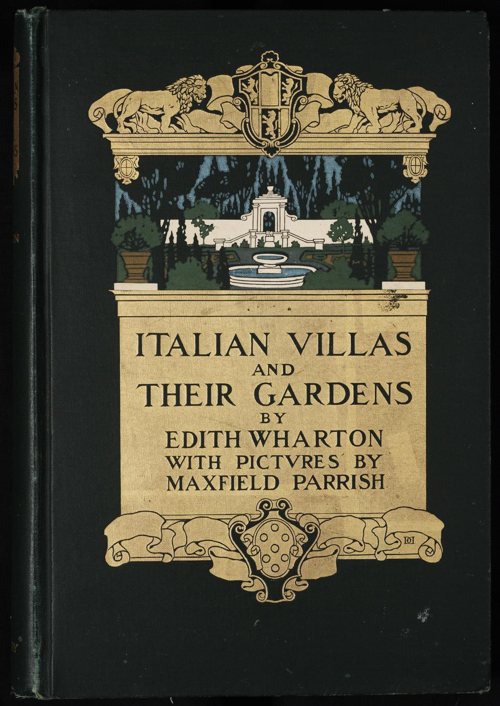 Italian villas and their gardens (1 of 3)