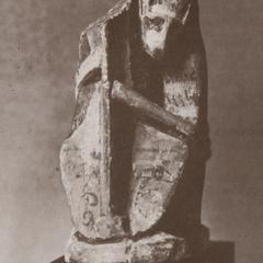 Egyptian Music-Playing Baboon Sculpture