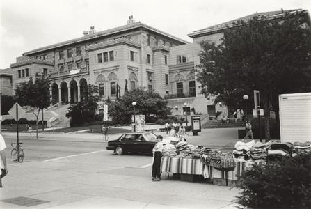 Union as seen from Library Mall