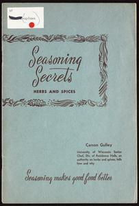 Seasoning secrets : herbs and spices