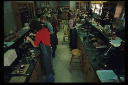 Textile chemistry lab